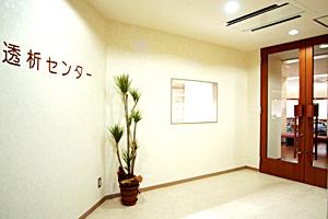 透析センター入口